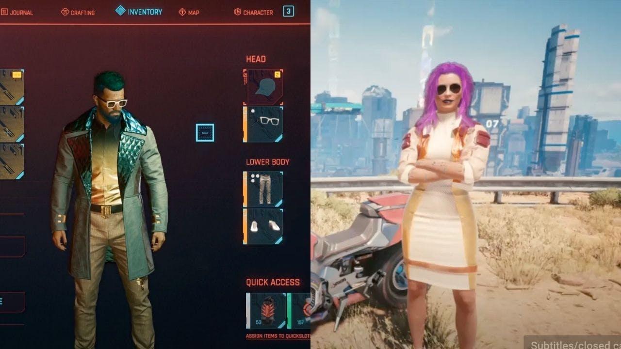 Cyberpunk 2077 fixer outfit