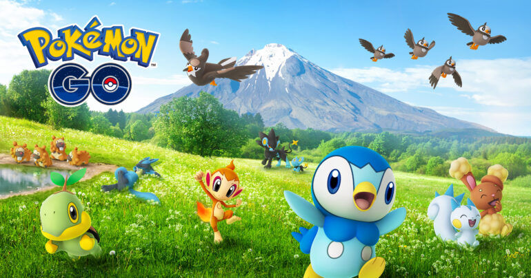 Pokemon Go Unova celebration