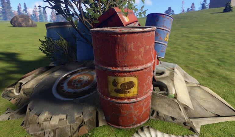 Rust Find Fuel