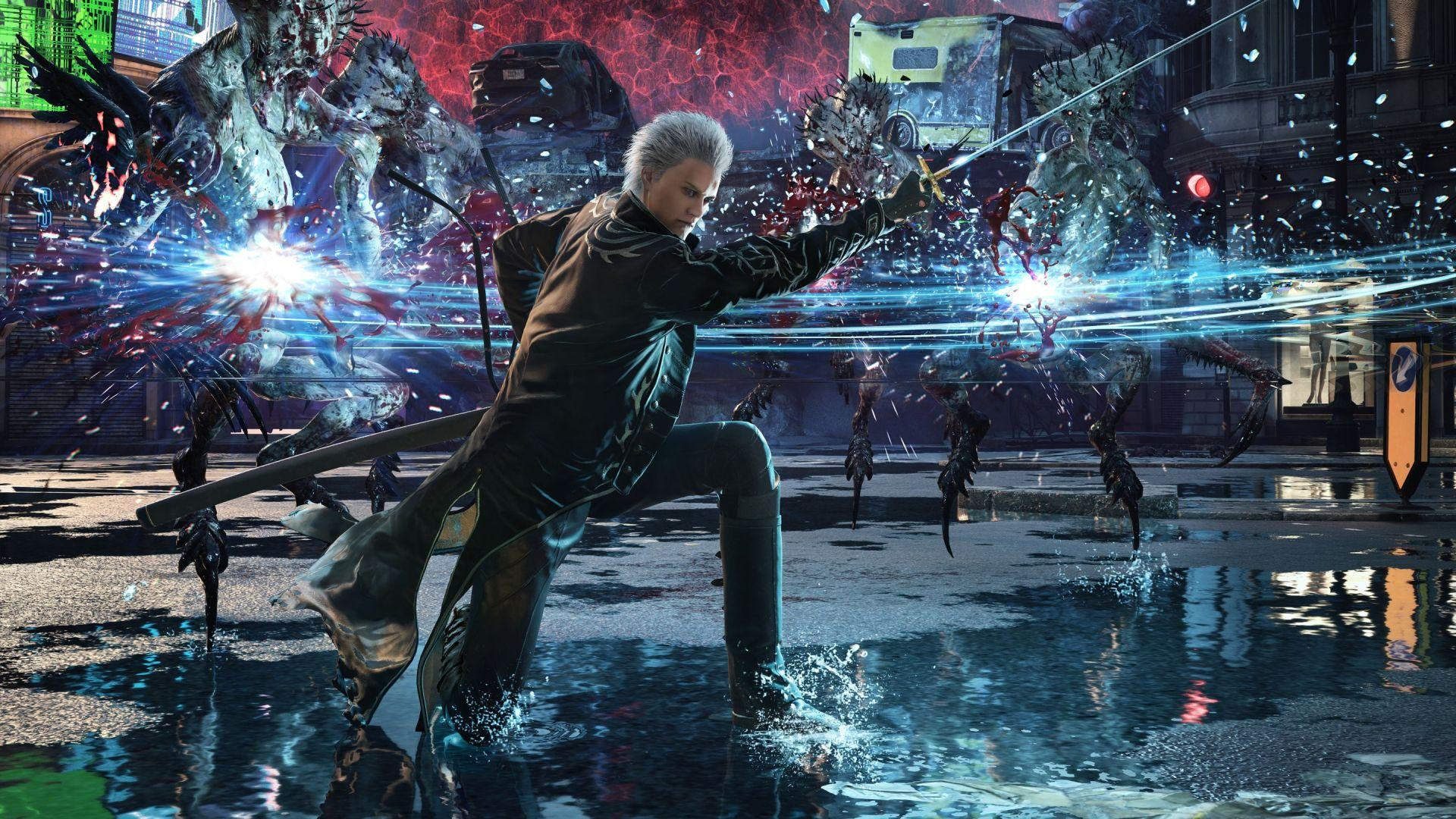 Devil May Cry 5 Turbo Mode and Game Content