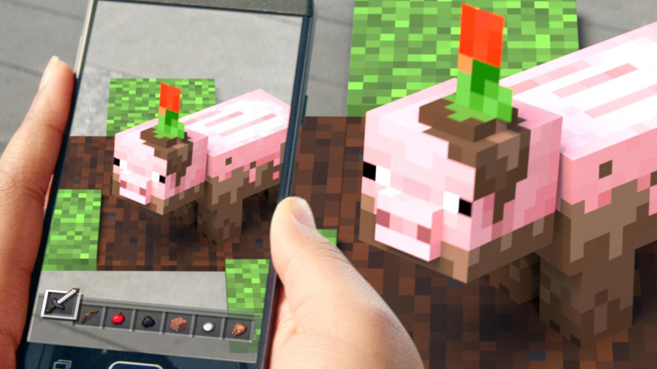 Minecraft Earth The Privilege of Game