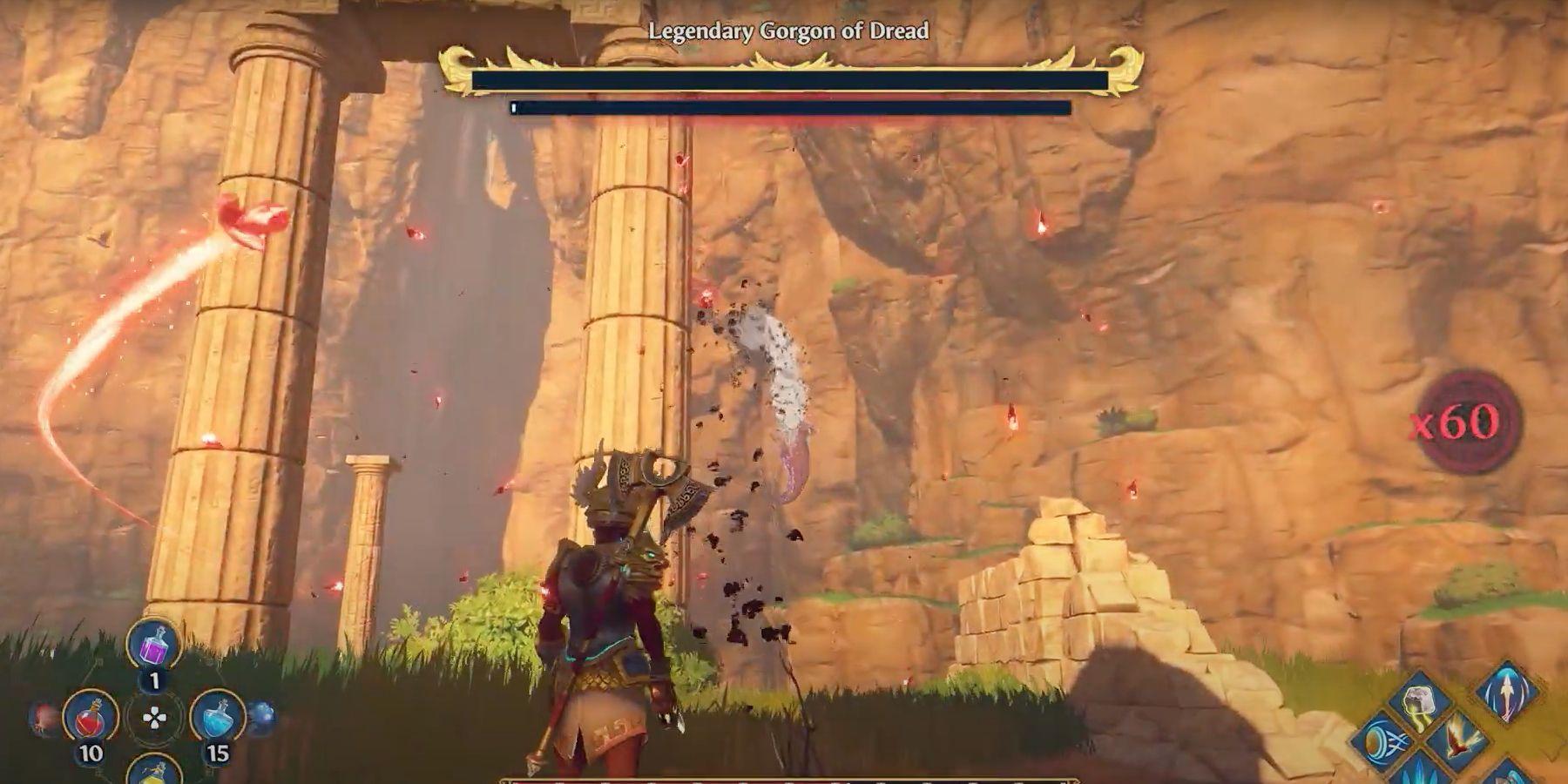 Immortal Fenyx Rising Gorgon of Dread