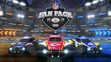 Rocket League NFL Fan Pack