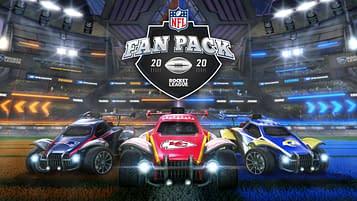 Rocket League NFL Fan Pack