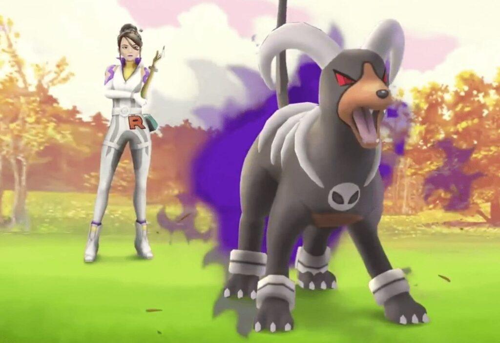 Pokemon GO Defeat Trainer Sierra