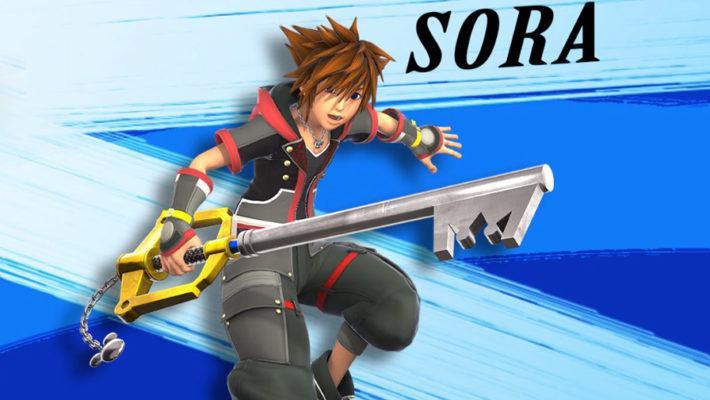 Super Smash Bros Ultimate Sora