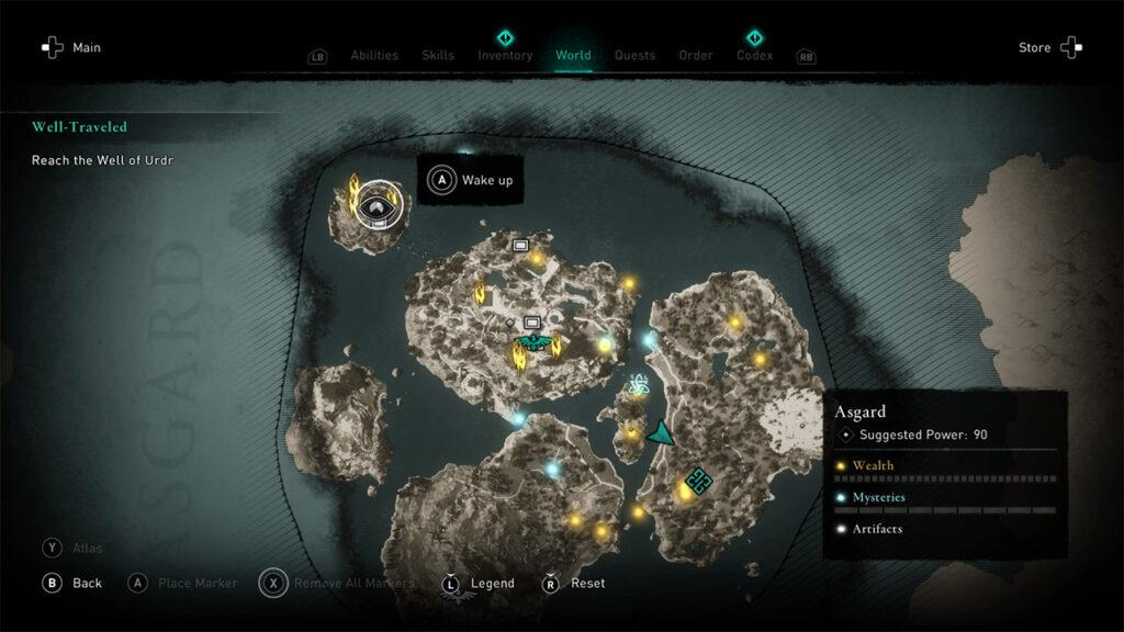 Assassin's Creed Valhalla Leave Asgard