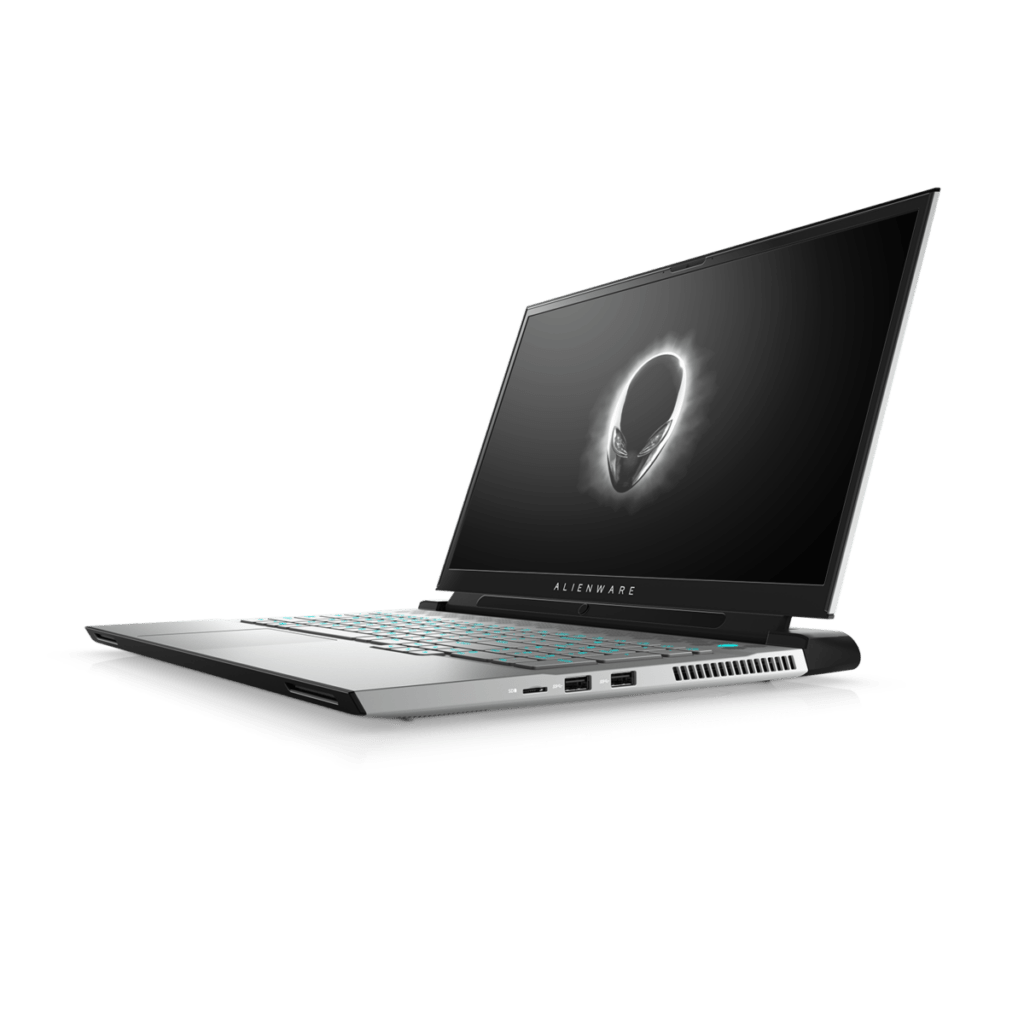 csm Alienware m17 R4 White with Tobii Faced Left 410e63891b