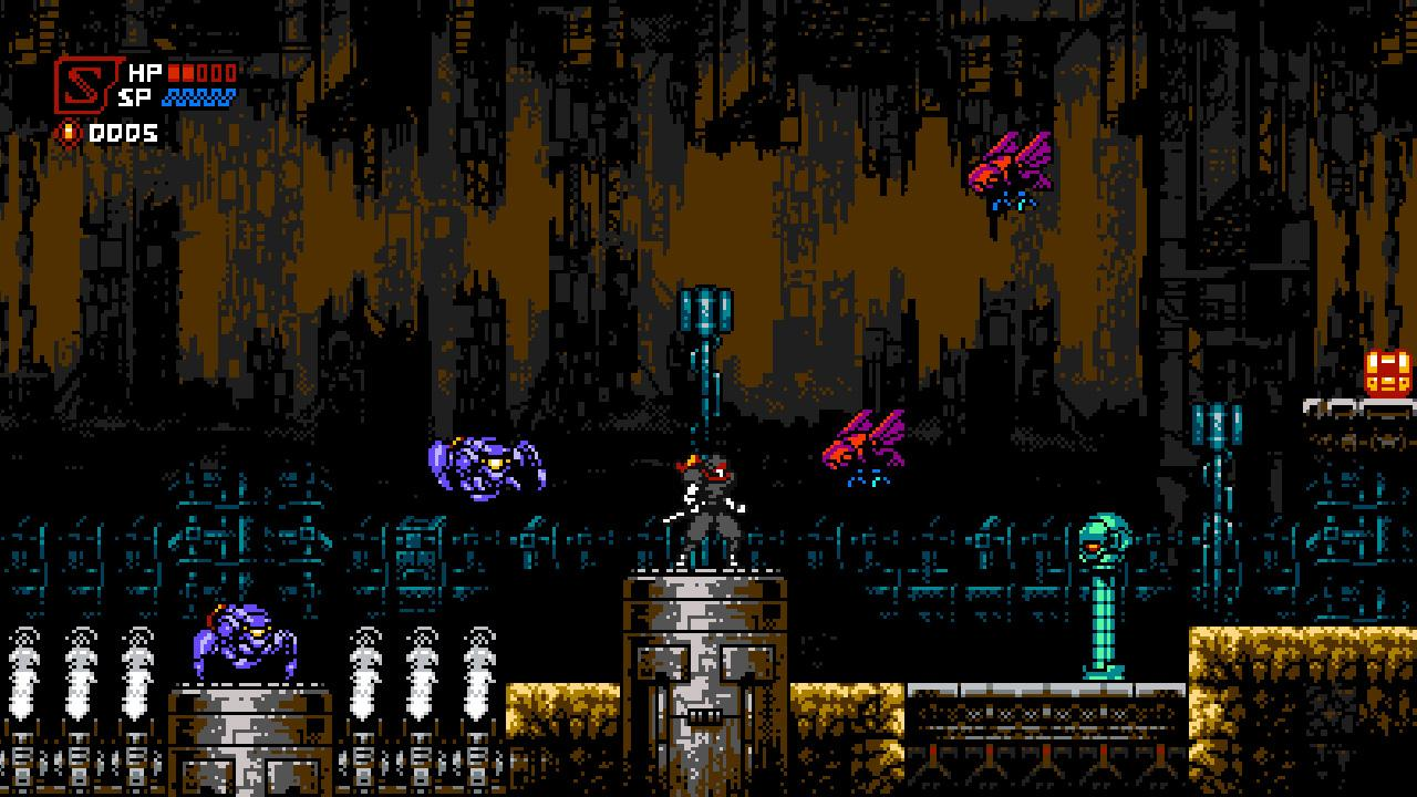 Cyber Shadow Gameplay, Features