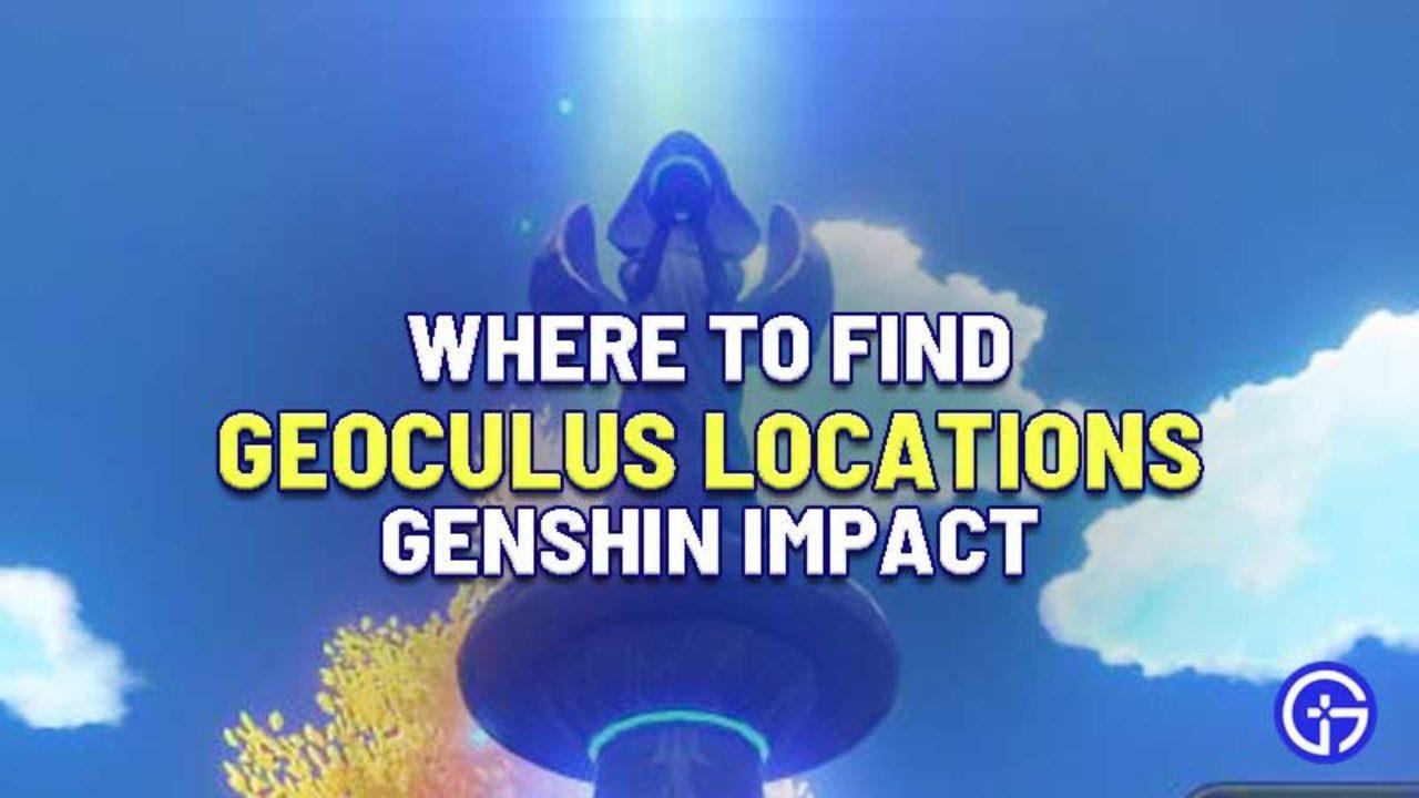 Genshin Impact get Geoculus
