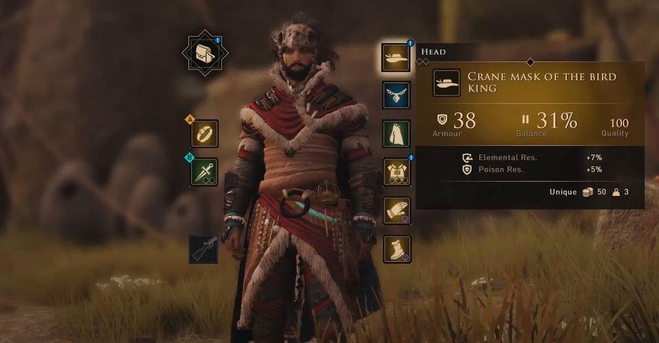 Greedfall Warriors King Armor
