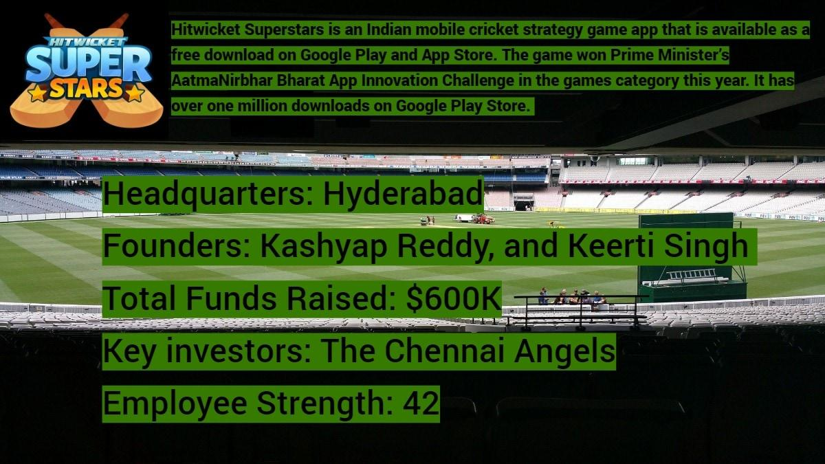 how made in india gaming app hitwicket superstars plans to host a virtual cricket world cup in 2023