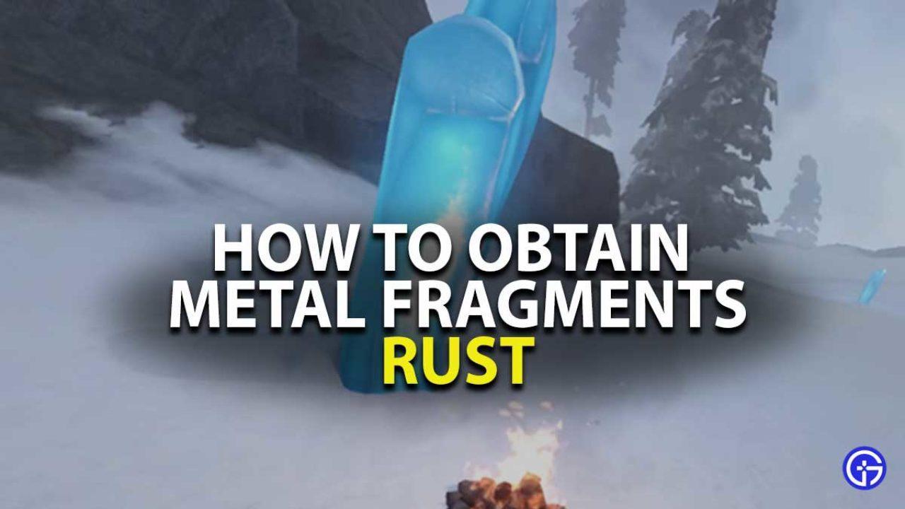 Rust Metal Fragments