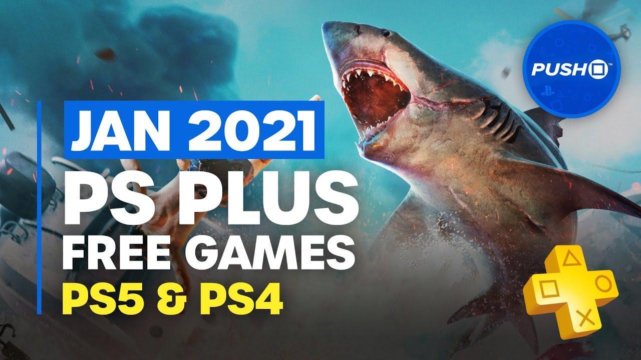 PlayStation Plus Jan 2021 Free Games