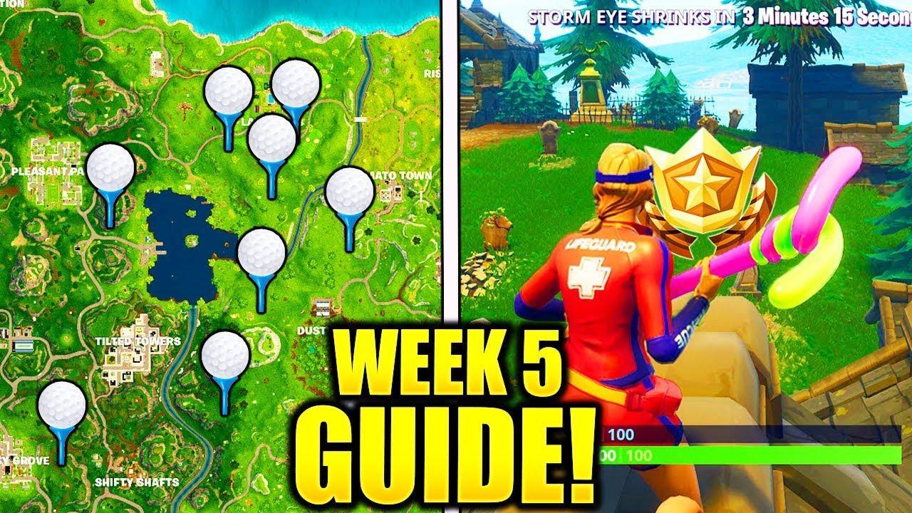 Fortnite Season 5 Week 5 challenges Guide