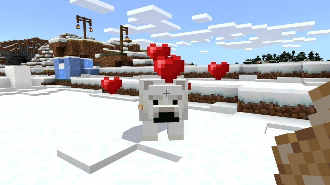 Minecraft Tame Polar Bears