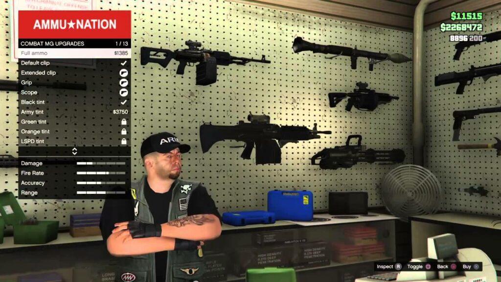 GTA 5 Buy Ammo