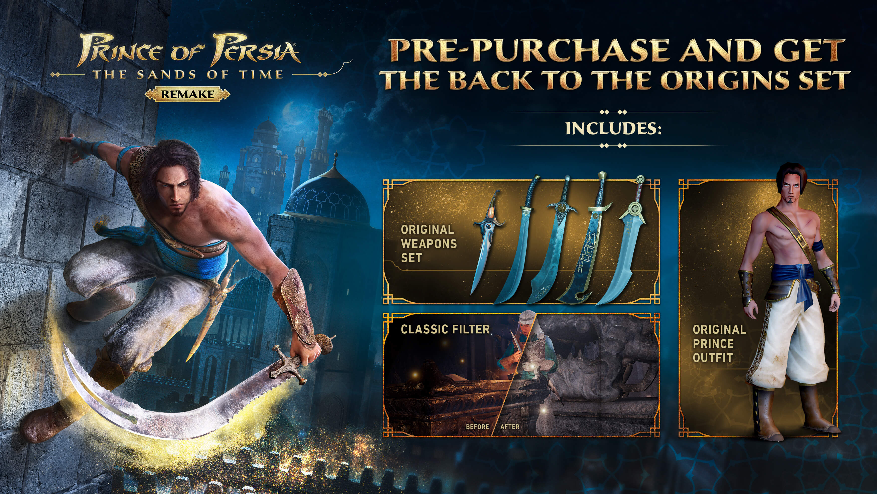 Prince of Persia Sands of Time Updates