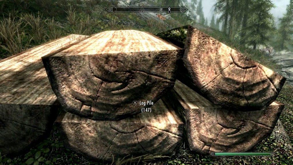Skyrim Get Sawn Log