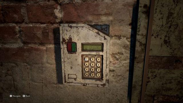 The Medium Open sealed basement door