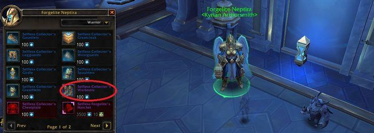 World of Warcraft Shadowlands eternal crystals