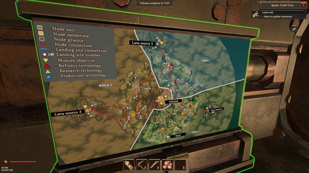 Valcanoids Lava Source Quest