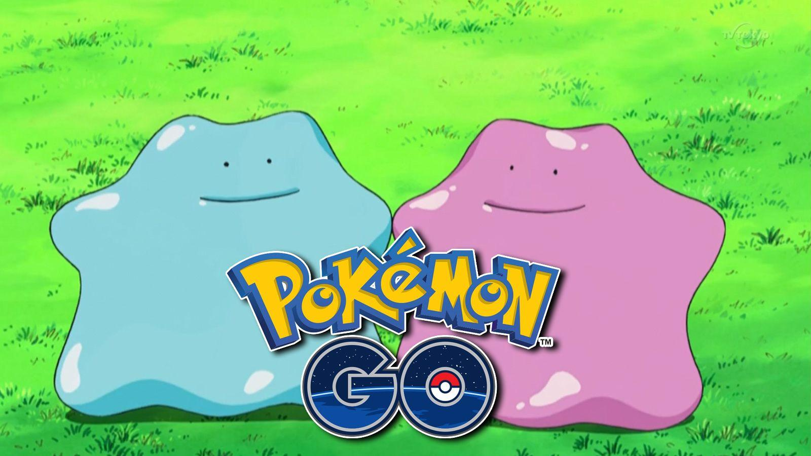 Pokemon GO shiny Ditto