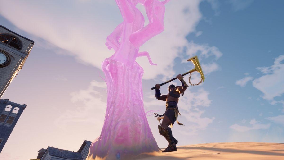 Fortnite Destroy Crystal Trees