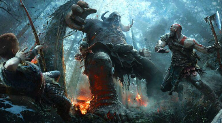 God of War Enhanced Graphics for ps5