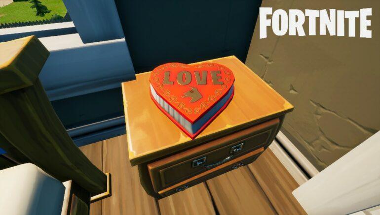 Fortnite Chocolate Box Location
