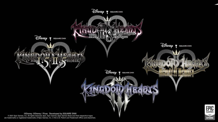 Kingdom Hearts Epic Games Store
