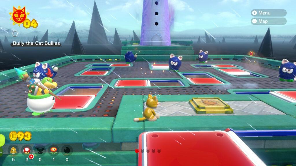 Mario 3D World Guide on Cat Shines and Cat Coins