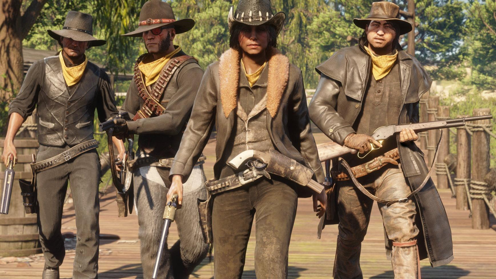 Red Dead Online available as Standalone