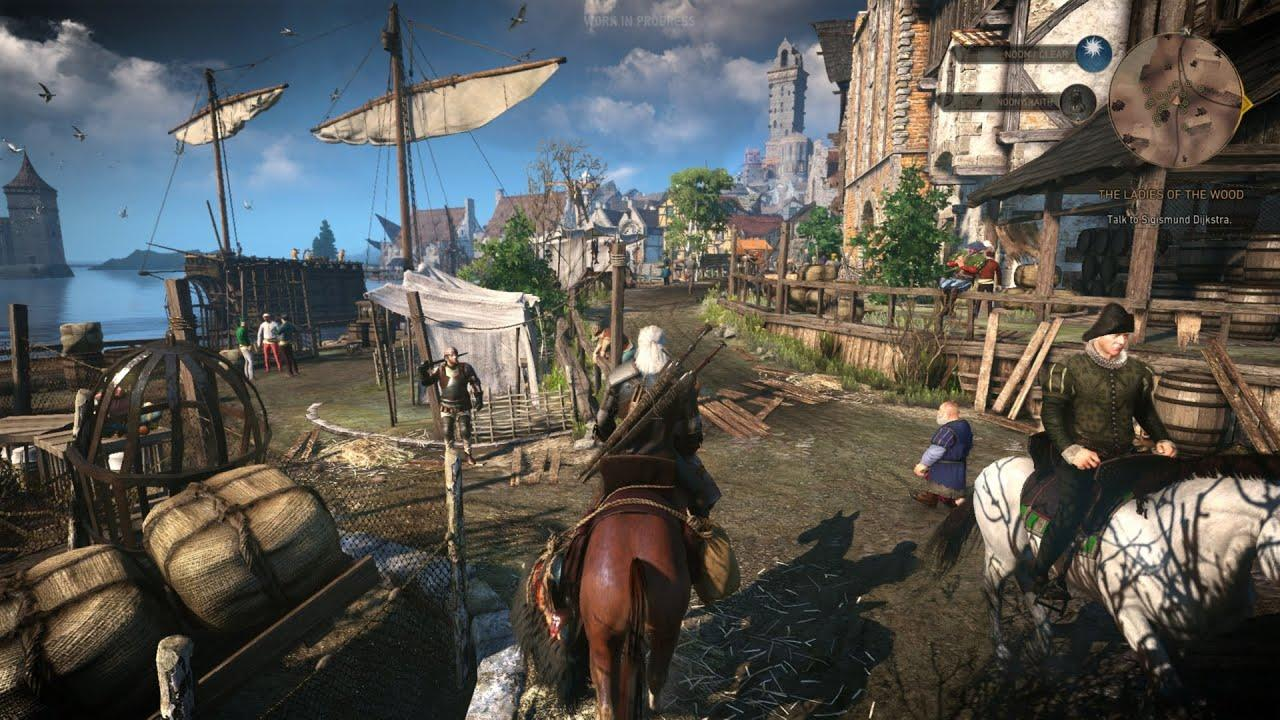 The Witcher 3: Wild Hunt loot everything