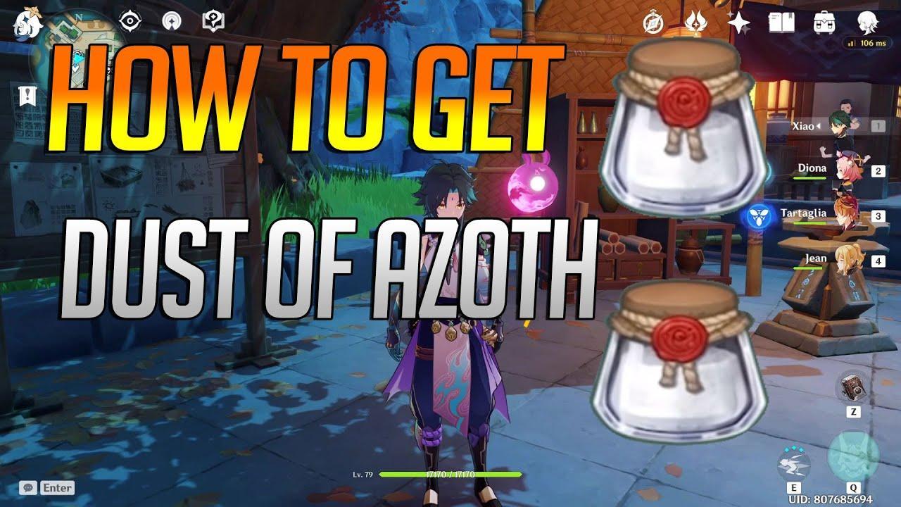 Genshin Impact Dust of Azoth
