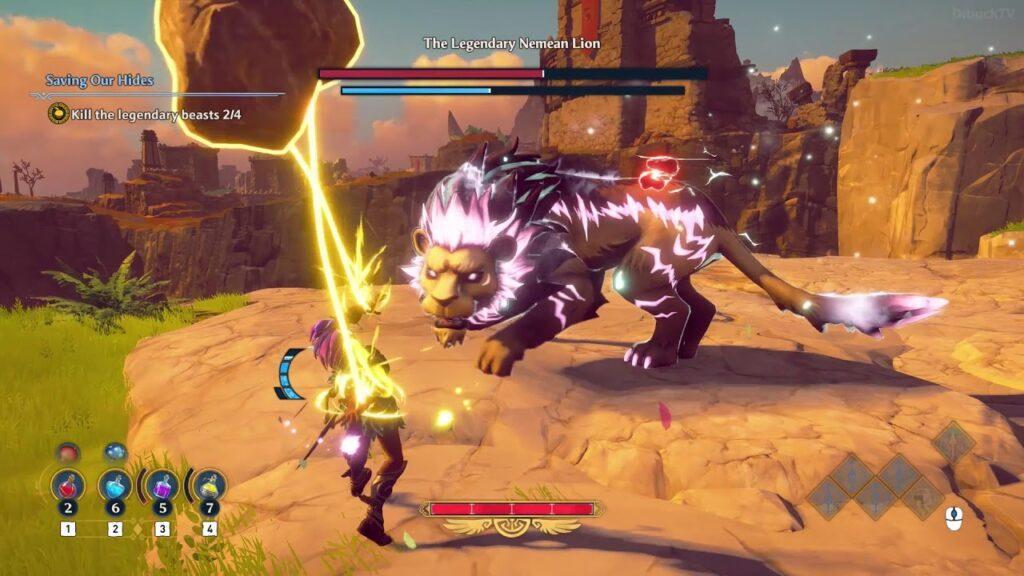Immortal Fenyx Rising Nemean Lion