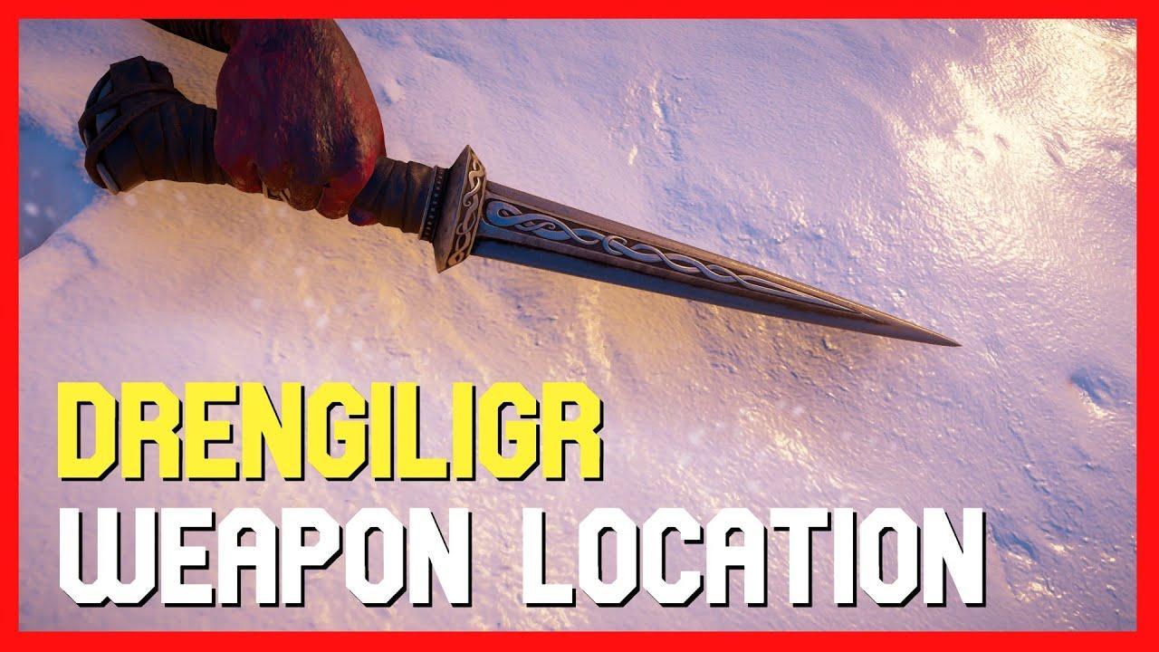 Assassin's Creed Valhalla Drengiligr Dagger