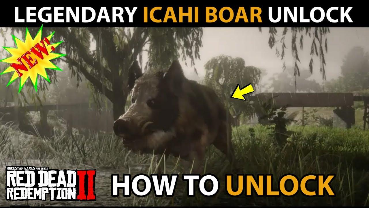 Red Dead Online Ichai Boar Location