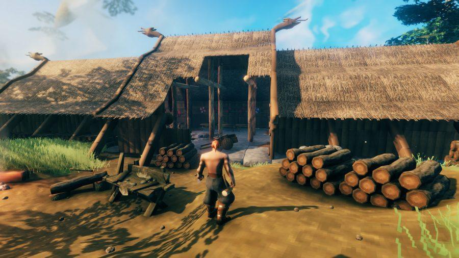Valheim build House