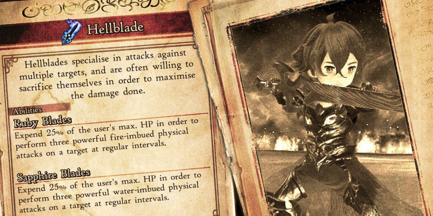 Bravely Default 2 Hellblade
