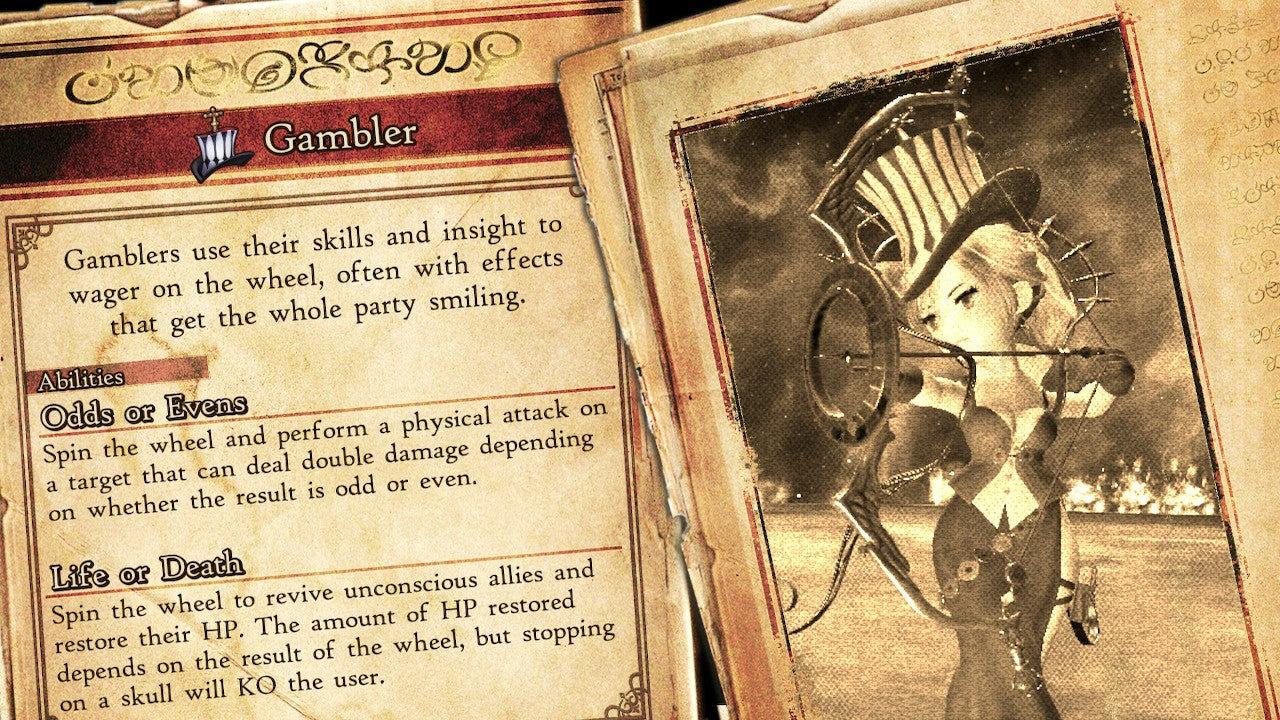 Bravely Default 2 Gambler