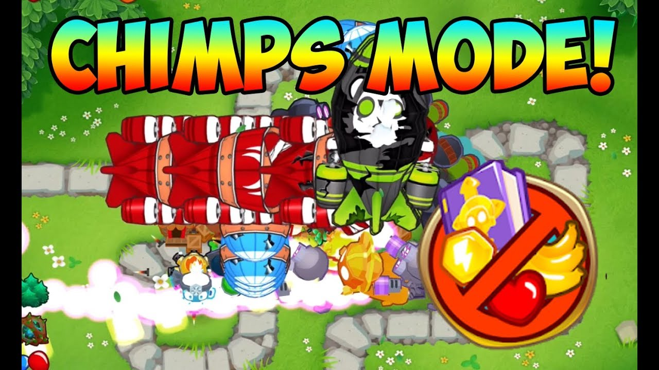 Chimps mode in Bloons TD 6