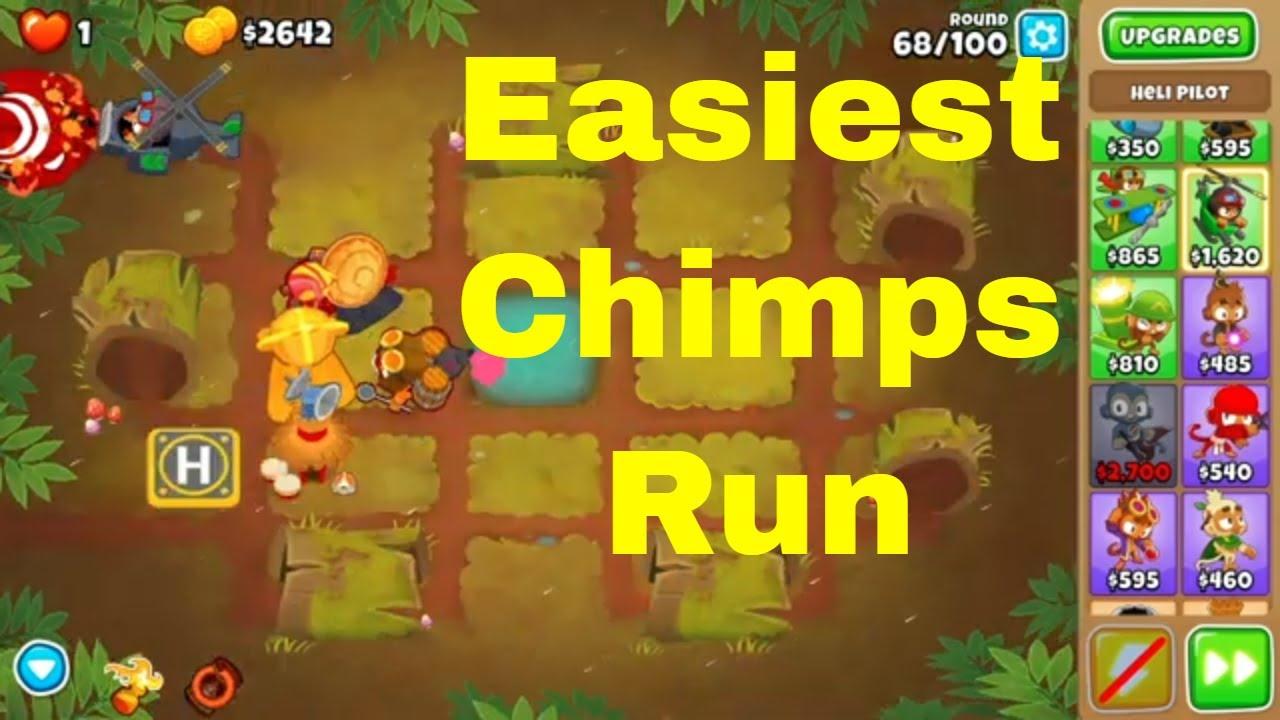 BTD 6 Chimps mode