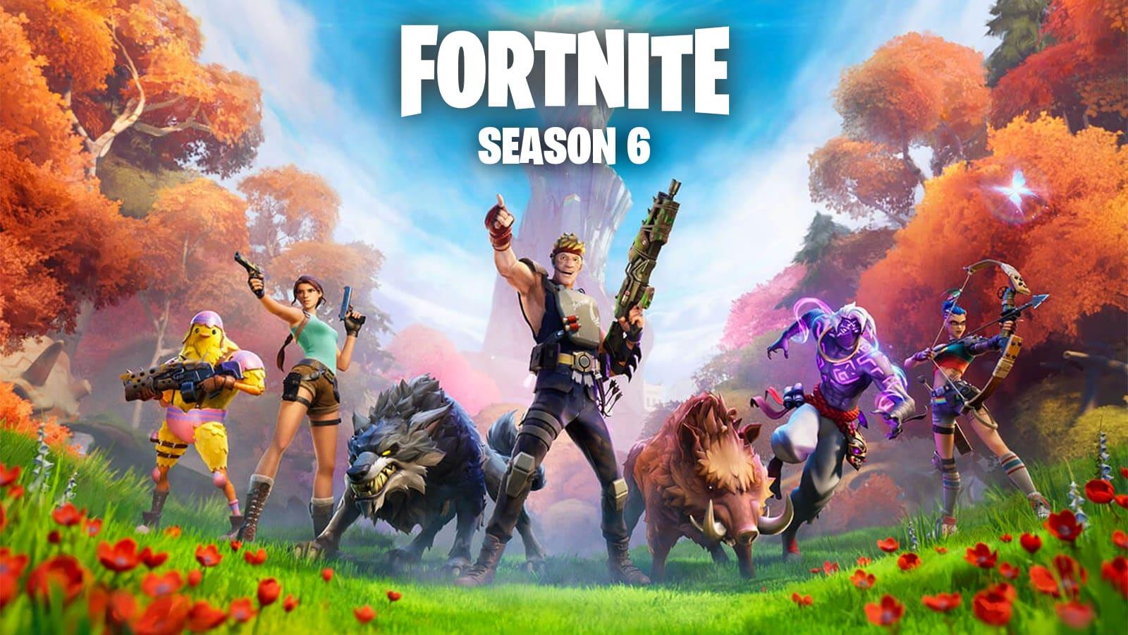 Fortnite Chapter 2 season 6guide