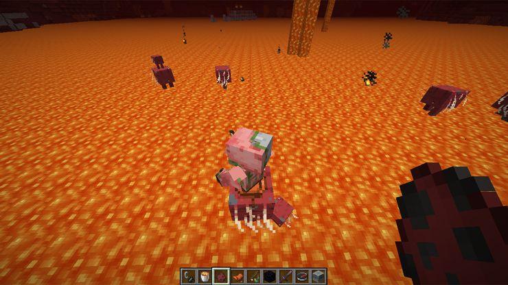 Minecraft Strider