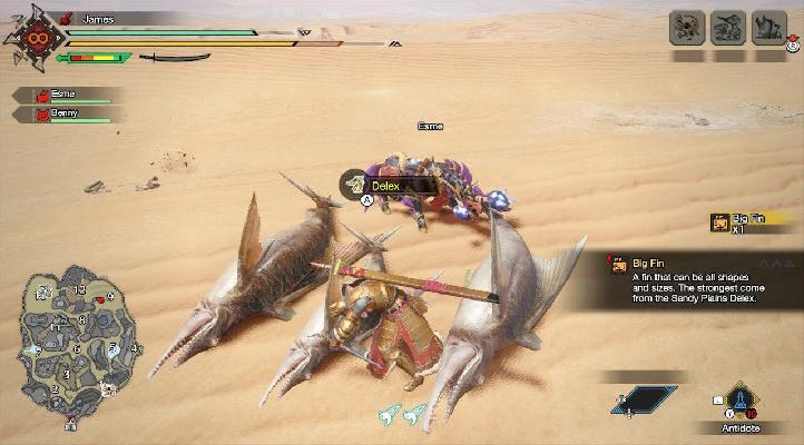 How to Collect Big Fin in MH Rise