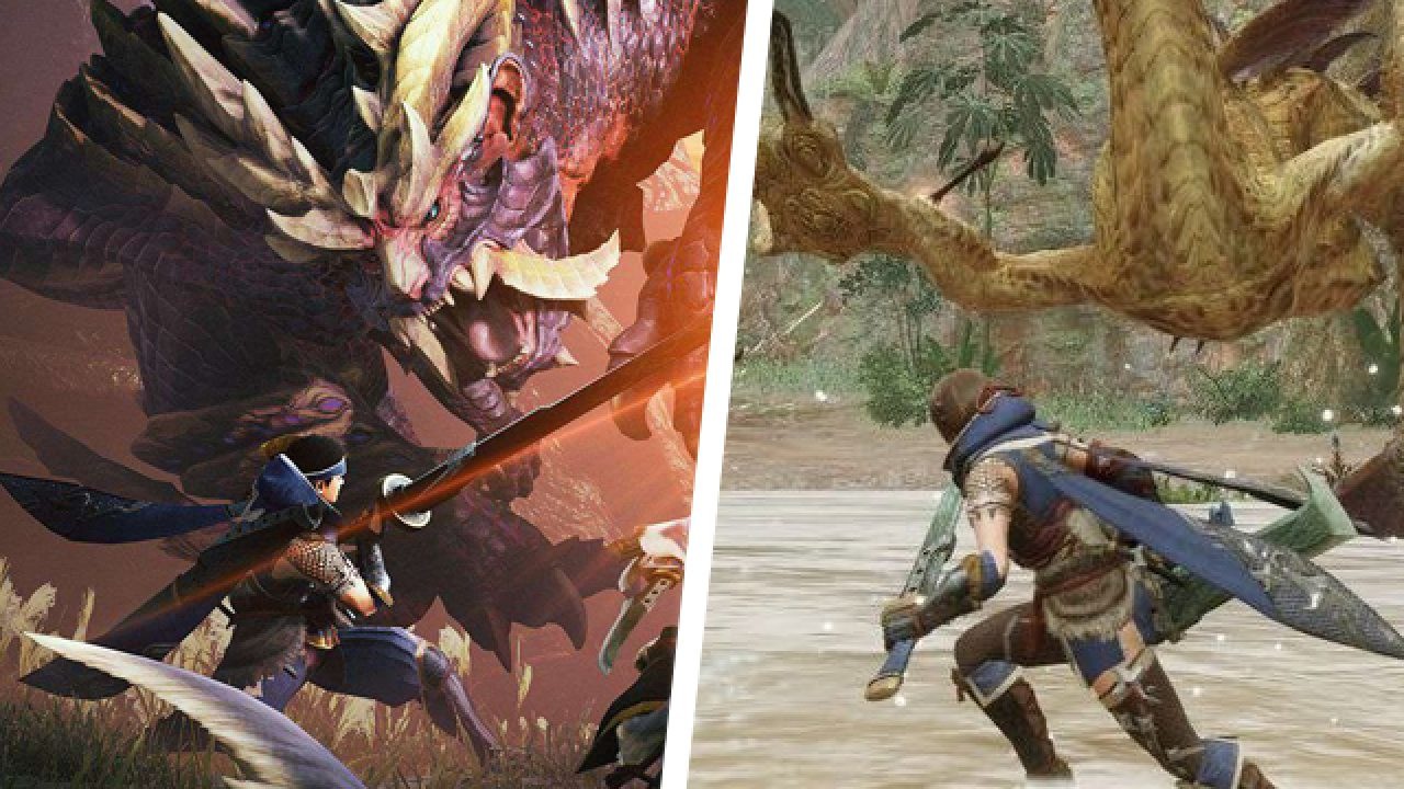Use of Big Fin in Monster Hunter Rise