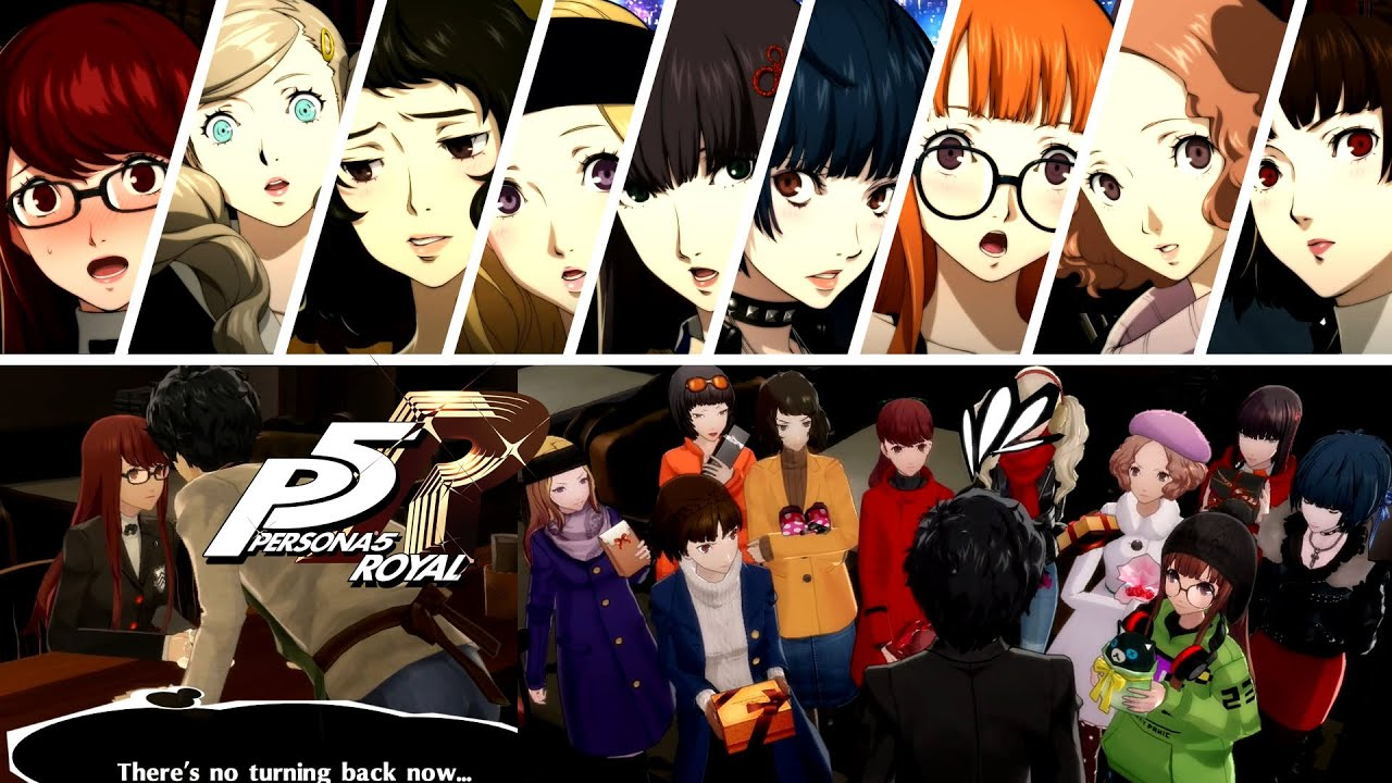 Romance options in Persona 5 Strikers