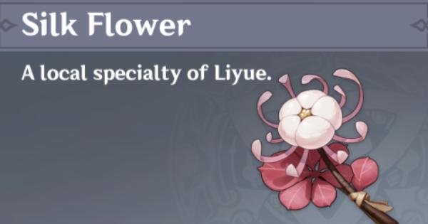 Silk Flower in Genshin Impact