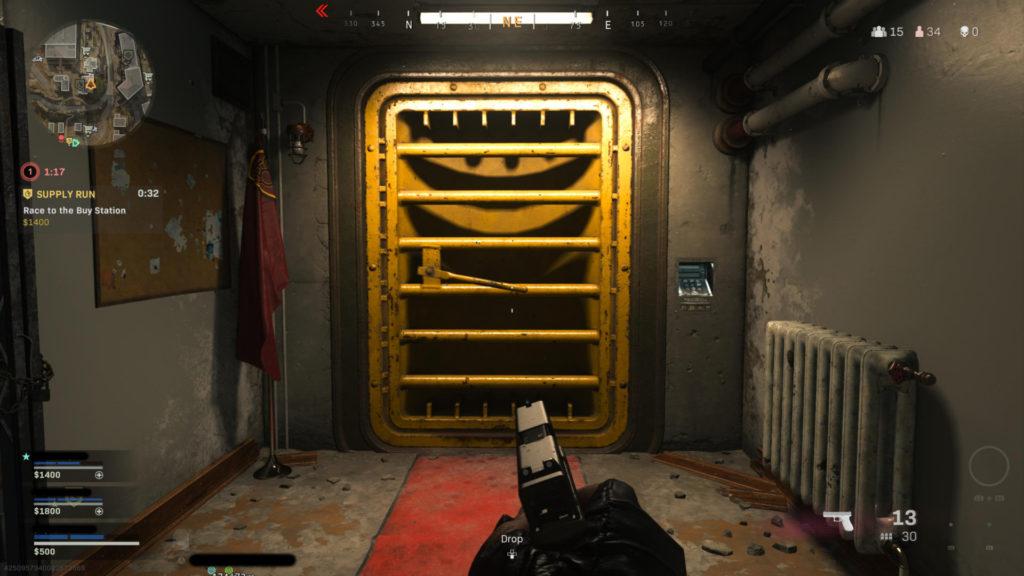 COD Warzone Rebirth Island Bunker Code
